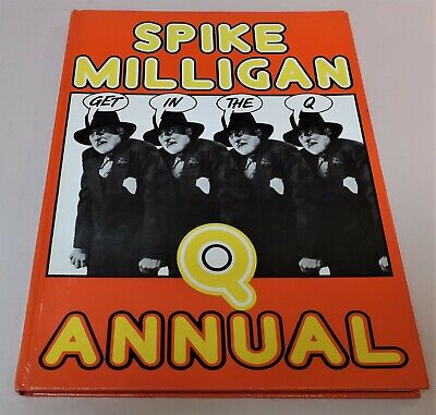 Q ANNUAL By SPIKE MILLIGAN HC 95pp 1980 1st Edition • 5.58£
