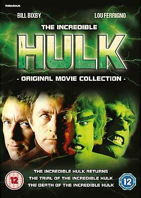 The Incredible Hulk Movie Collection (DVD) • 18.99£