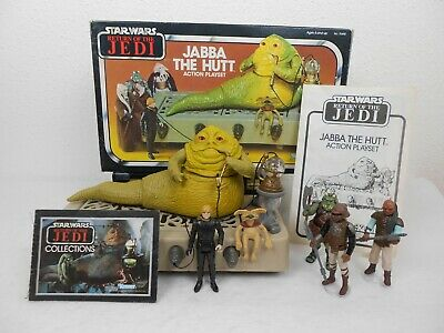 $ CDN309.35 • Buy Vintage Star Wars ROTJ 1983 Jabba's Throne Room  Complete W/Box   *Very Nice*