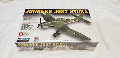 $12 • Buy Lindberg 2006 Junkers Ju87 Stuka 1/48 Model Kit #70508