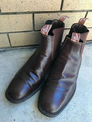 AU138.50 • Buy RM Williams Boots Size 9.5 XCF Calf LeatherThe Soles Are In Excellent Shape!