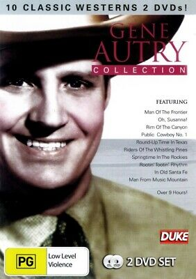 Gene Autry Collection - 10 Classic Westerns (DVD) Brand New Sealed R4 • 15.67£