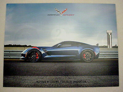 $12.95 • Buy 2017 Chevrolet C7 Corvette Grand Sport Poster - Original