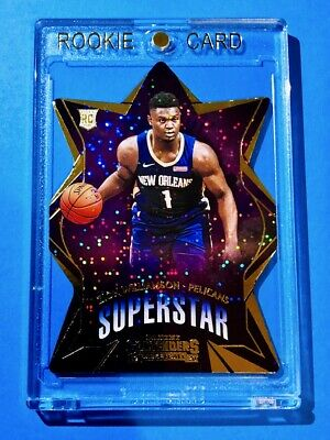 $125 • Buy Zion Williamson ROOKIE PANINI CONTENDERS SUPERSTAR DIECUT SPARKLE RC Mint!
