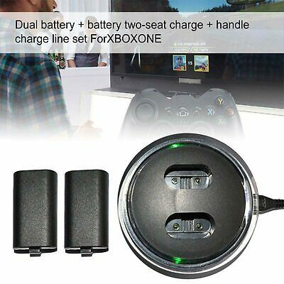 $11.59 • Buy 2 Battery Packs Dual Charging Dock Station Controller Charger For Xbox One USA