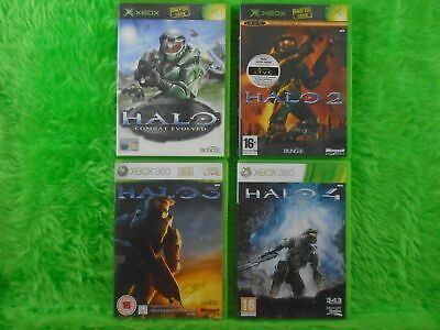 £14.99 • Buy Xbox 360 HALO X4 Games 1 + 2 + 3 + 4 (All Play On Xbox 360) PAL UK Versions