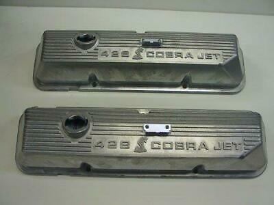 $279 • Buy Ford 428 SCJ, 69-70 Shelby GT500, Mustang Mach 1 Snake Valve Covers