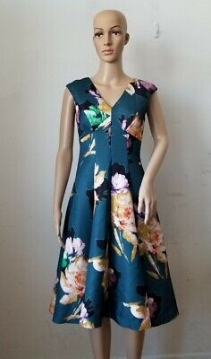 $ CDN49 • Buy Anthropologie Moulinette Soeurs Fit And Flare Floral Dress, Small?