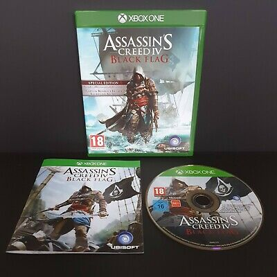 £15 • Buy XBOX ONE Assassin's Creed IV (4) Black Flag -  Complete & Excellent Condition