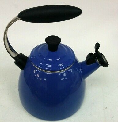 Le Creuset Stove-Top Kettle  Marseille Blue With Whistle 1.4 Litres  #683 • 10.50£