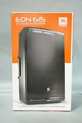 $290 • Buy JBL EON615 15  1000 Watt 2-Way Portable Powered Speaker Active Monitor