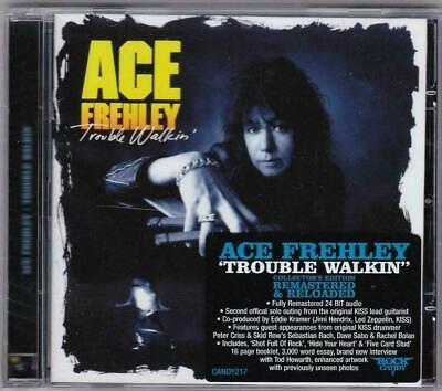 Ace Frehley 'trouble Walkin' Rock Candy Remastered 2013 New Sealed! • 12.99£