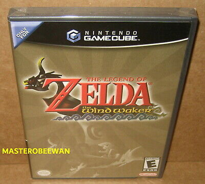 $379.99 • Buy The Legend Of Zelda The Wind Waker (GameCube, 2003) Wii New Sealed Black Label