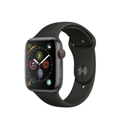 $ CDN472.43 • Buy Offers Welcomed Apple Watch Series 4 44mm Space Gray Aluminum With GPS