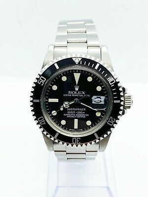$ CDN14927.91 • Buy VINTAGE Mint Rolex Submariner 1680 Matte Black Dial Stainless Steel 1976
