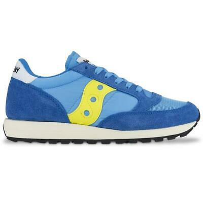 Saucony Originals Jazz Blue And Yellow UK Size 9. Brand New • 24£