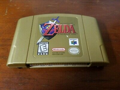$72.95 • Buy Legend Of Zelda: Ocarina Of Time - Collector's Edition CART ONLY AUTHENTIC N64