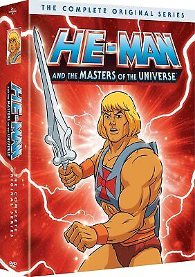 $42.89 • Buy He-Man And The Masters Of Universe Complete Original Series(DVD,2019)NEW HeMan