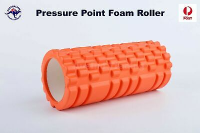AU24.95 • Buy Physio Pilates EVA PVC Foam Yoga Roller Gym Back Training Exercise Massage Grid