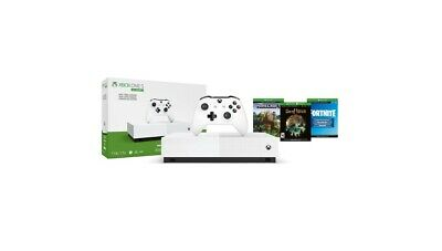 $250 • Buy Brand New Xbox One S 1TB Bundle White. Sea Of Thieves, Minecraft, Fortnite