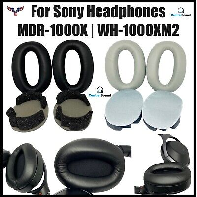 $ CDN23.08 • Buy Ear Pad Cushion Parts Pair/Set For Sony WH-1000XM2 MDR-1000X Wireless Headphones