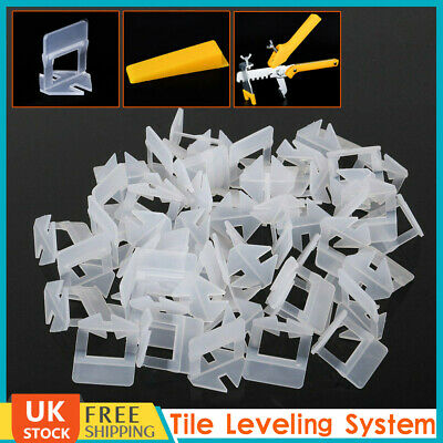 4000Pcs Tile Leveling Spacer System Tool Clips & Wedges Flooring Lippage Plier • 11.25£