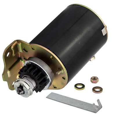 AU60 • Buy 16 Tooth Starter Motor Replace For Briggs And Stratton For Ride On Mower 499521