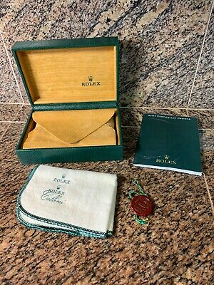 $ CDN253.88 • Buy RARE Rolex 68.00.04 6 PIECE Pillow Green Watch Box Set- Cosmograph Daytona 2006