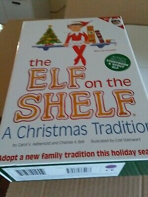 AU43.50 • Buy The Elf On The Shelf® Plus Story Book! A Christmas Tradition Girl Elf