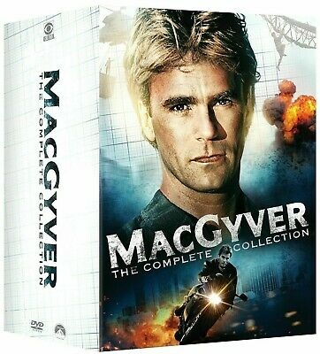 $130.99 • Buy MacGyver:The Complete Series Collection(DVD,39-Disc Set,Seasons 1-7+2 TV Movies)