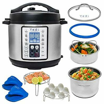 $136.87 • Buy 9 In 1 Instant Programmable Pressure Cooker 6 Quart Accessory Kit StainlessSteel