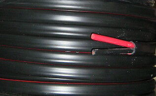 AU29.95 • Buy  5 M   8B&S  7.7mm2  TYCAB  CABLE TWIN SHEAT (BLACK & RED WIRE)