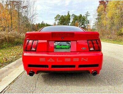$10 • Buy Rear Decal Bumper Letters For Ford Mustang Saleen  Outlines  1999-2004