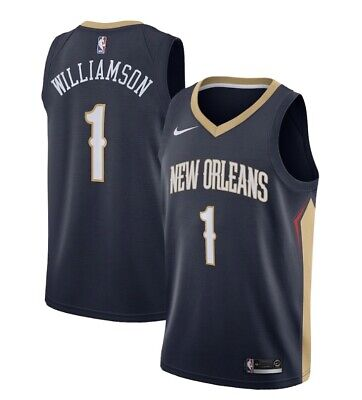 $139.99 • Buy NEW 2019 Nike Zion Williamson New Orleans Pelicans Jersey Icon Edition 1st Pick