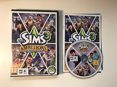 The Sims 3 Ambitions Expansion Pack PC Or Mac DVD-ROM Game • 6.99£
