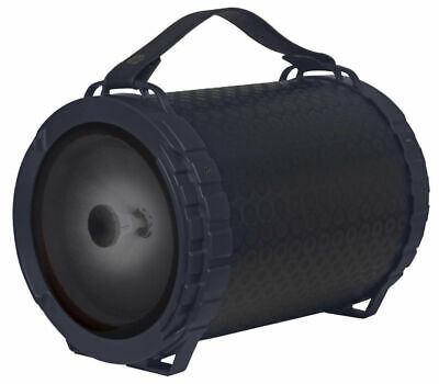 "$39.98 • Buy Fully Powered Portable 1000 Watts Peak Power 6.5"" Speaker W/ LED Light - Black"