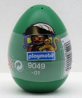 Egg Green With Pirate Playmobil 9049 V `15 For Easter Ship Guard Boxed New • 9.14£