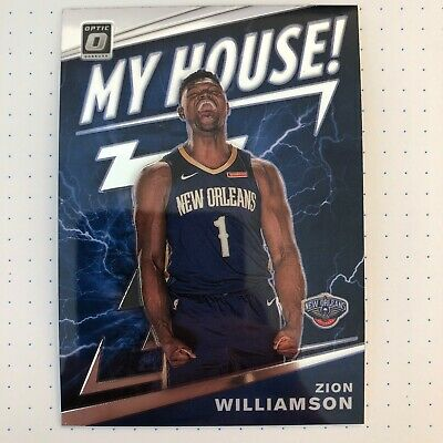 $15 • Buy 2019-20 Donruss Optic Zion Williamson My House Rookie Card RC 💎💎