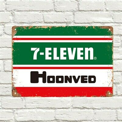 AU22 • Buy Team 7-eleven Hoonved Cycling Metal Wall Sign Retro Vintage