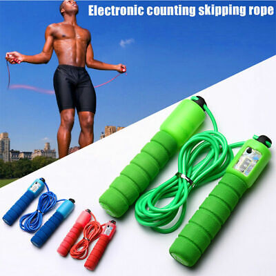 £3.59 • Buy Kids Adults Skipping Rope With Counter Children Exercise Jumping Game Fitness