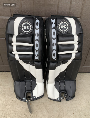 $375 • Buy Koho Hockey Adult Goalie Leg Pads [NEW]