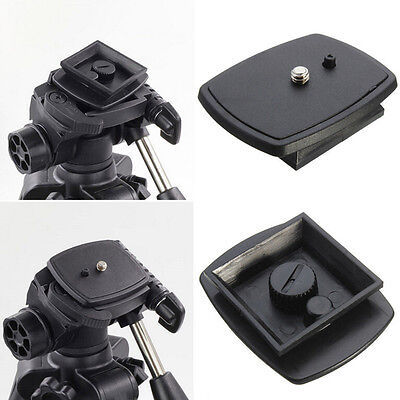 Tripod Quick Release Plate Screw Adapter Mount Head For DSLR SLR Camera D Kw • 2.40£