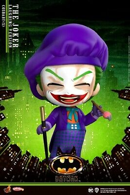 $0.08 • Buy Hot Toys Cosbaby COSB712 Joker Laughing  Edition Mini Collectible Figure Model