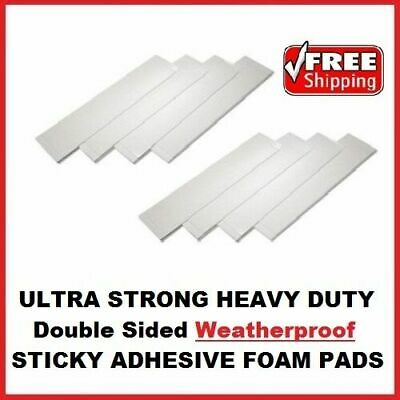 £1.88 • Buy 8x Heavy Duty Double Sided Foam Adhesive Sticky Fixing Pads Indoor Outdoor DIY