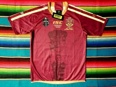 AU329.99 • Buy ✺Signed✺ CAMERON SMITH Queensland State Of Origin NRL Jersey COA 2021 Storm