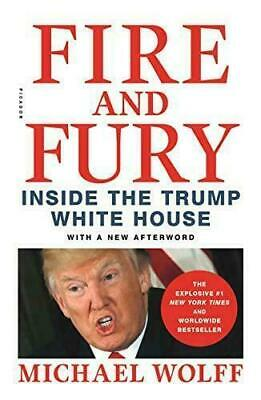 AU19.90 • Buy Fire And Fury: Inside The Trump White House By Michael Wolff #22321