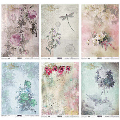 £2.99 • Buy  ITD Collection E - Decoupage Rice Paper A4 Sheet - VARIOUS DESIGNS