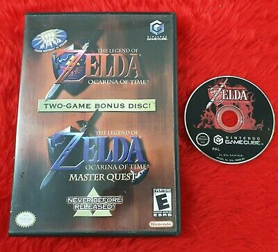 £34.99 • Buy *gamecube ZELDA OCARINA OF TIME + MASTER QUEST The Legend Of (NI) Wii PAL