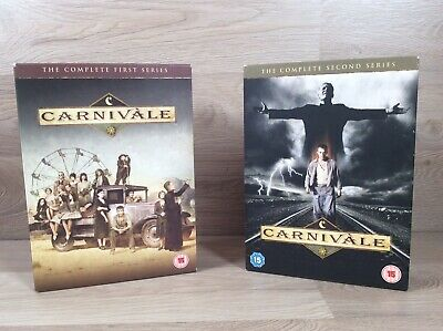 Carnivale - The Complete Series 1 & 2 Collection DVD SET Carnival Season One Two • 16.99£