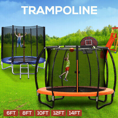 AU533.99 • Buy Centra Trampoline Round Trampolines Enclosure Kids Safety 6FT 8FT 10FT 12FT 14FT